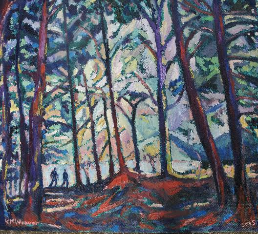 Couple Walking, Ullswater PAINTINGS FRAMED UNLESS STATED