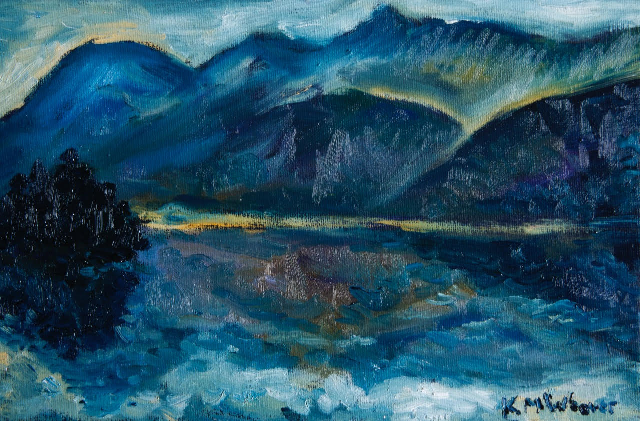 NOW SOLD Ennerdale Blue Dawn 15 x 30 cm