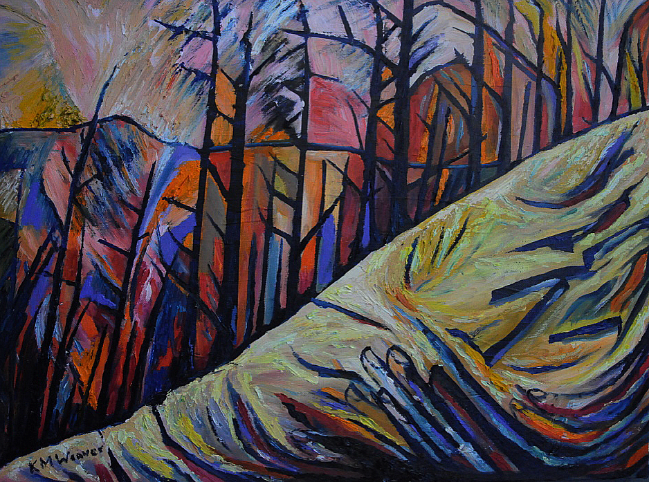 Fingers of Autumn, Thirlmere £550 PAINTINGS UNFRAMED UNLESS STATED