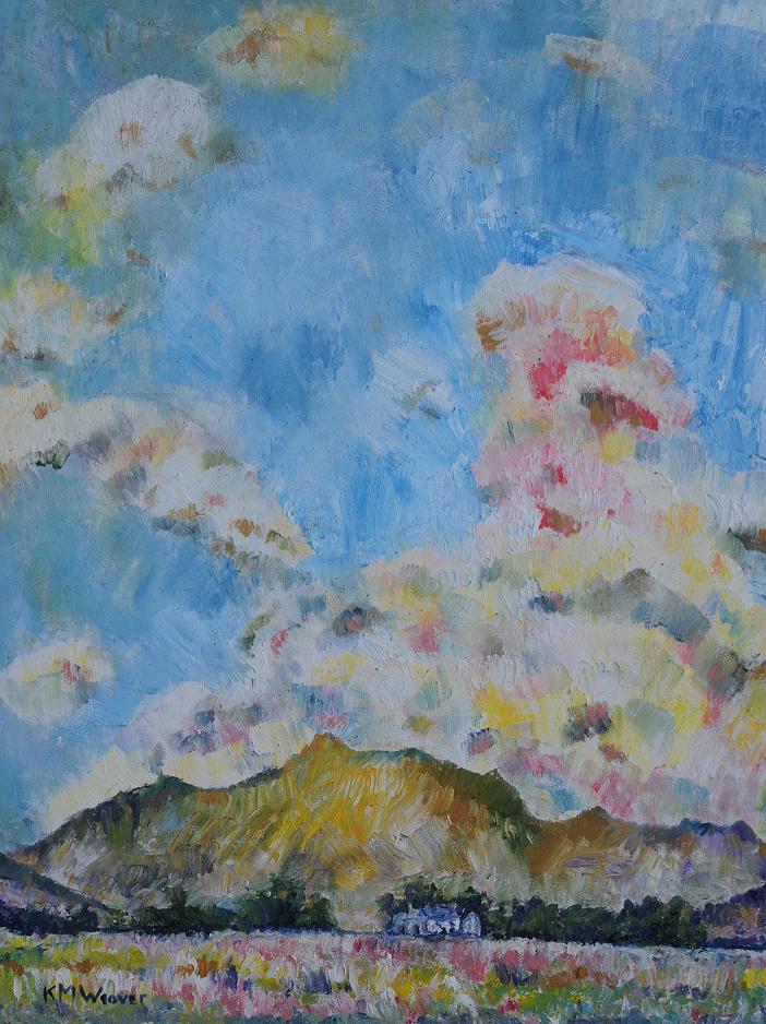 'Dale Head III, Dunnerdale' Oil on canvas by Kevin Weaver 73 x 92 cm £850 unframed