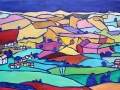 NOW SOLD Burnside, near Kendal Oil on canvas Kevin Weaver