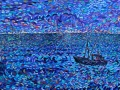 NOW SOLD Last Trawler out of Whitehaven PAINTINGS FRAMED UNLESS STATED