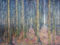 Pathways Through a Lakeland Fir Forest, Cogra Moss PAINTINGS UNFRAMED UNLESS STATED