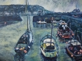 Port Patrick Harbour Fishing Boats PAINTINGS UNFRAMED UNLESS STATED