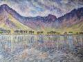 'Buttermere Morning' 100 x 54 cm unframed £750 Kevin Weaver