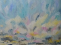 Big Summer Skies, Ennerdale by Kevin Weaver. Oil on canvas.  95 x 83 cm £830