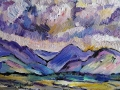 NOW SOLD Ennerdale IV 30 x 23 cm Oil on canvas Kevin Weaver