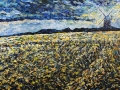 Fields of Barley, Norfolk. 70 x 42 cm £550 framed
