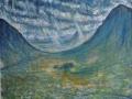 'The Rain in Glencoe, Scotland' 60 x 50 cm Framed £250 Kevin Weaver