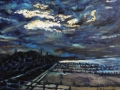 Hunstanton, Dusk. 30 x 23 cm £60 PAINTINGS UNFRAMED UNLESS STATED