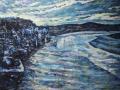 'Trawlers, Kirkcudbright' Oil on canvas FRAMED 80 x 55 cm £650 Kevin Weaver