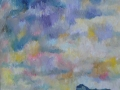 'Langdale Skies 1' Oil on canvas by Kevin Weaver 94 x 112 cm £995 unframed