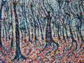 NOW SOLD Red Forest