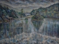 'Rydal Water Boathouse.'  78 x 60 cm. £550 framed. Kevin Weaver.