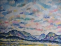 Ennerdale Summer Skies - Oil on canvas by Kevin Weaver 113 x 94 cm £850 unframed