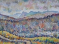 Tarn Hows Evening Oil on canvas by Kevin Weaver 31.5 x 42.5 cm £145 unframed