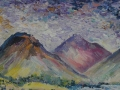 Wasdale Afternoon Oil on canvas by Kevin Weaver 20 x 30 cm  Price £105