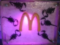 The third image in the triptych The Three Ages of Man: BIG Mac and Scorpions.