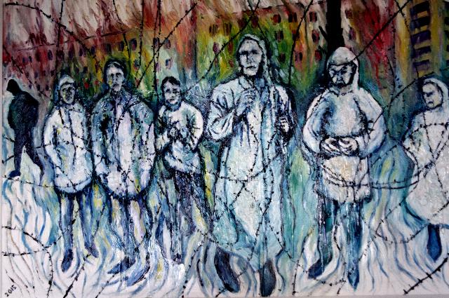"""""""concentration camp sarajevo kevin weaver 2015"""""""