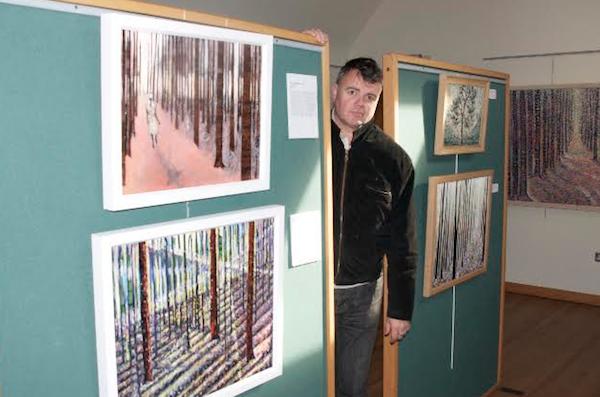 """""""kevin weaver artist in kirkcudbright"""""""
