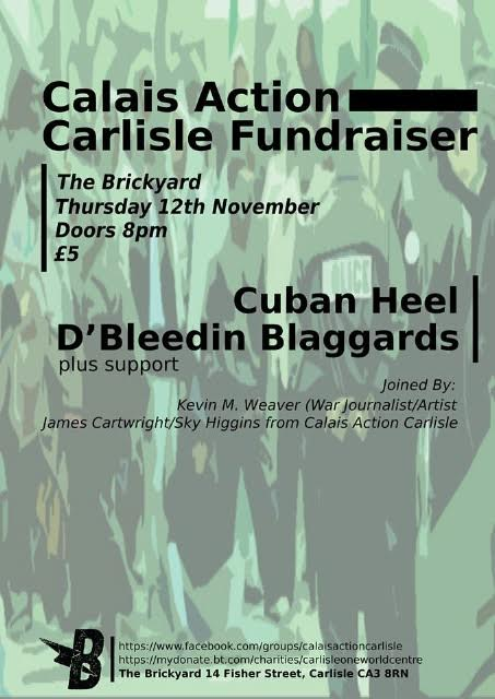"""Calais Action Carlisle Fundraiser at The Brickyard"""
