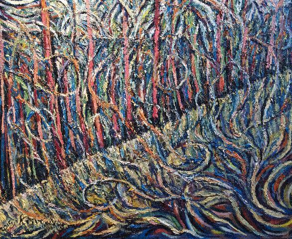 """Thirlmere Forest Flood, Kevin Weaver."""