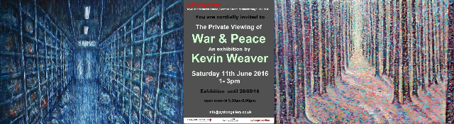 """Kevin Weaver Artist at The Python Gallery Middlesbrough"""